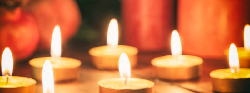 Candles - Fire Safety